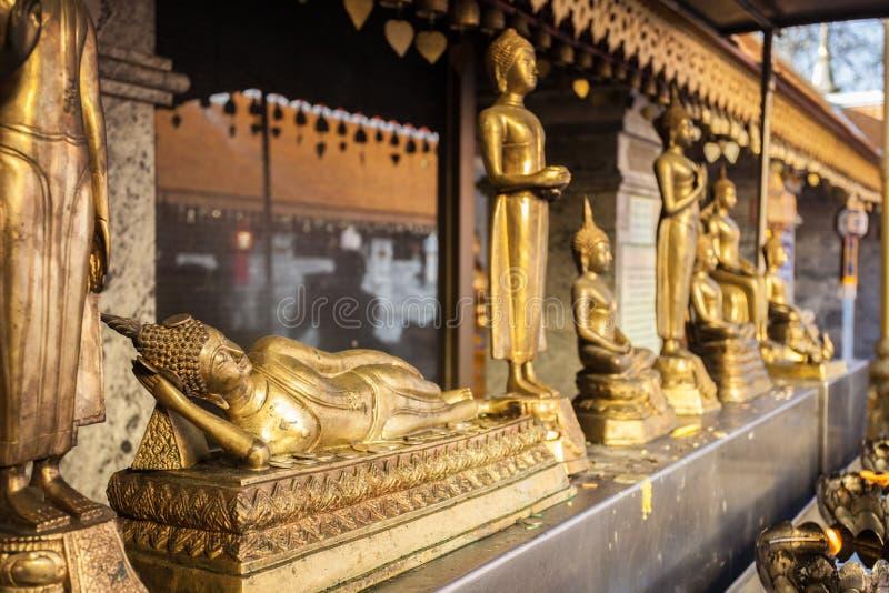 Tempio di Doi Suthep fotografie stock