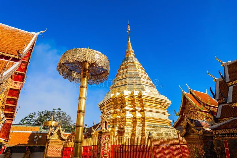 Tempio di Doi Suthep fotografia stock libera da diritti