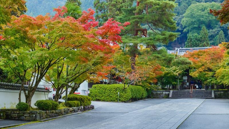 Tempio di Eikando Zenrin-ji a Kyoto fotografie stock libere da diritti