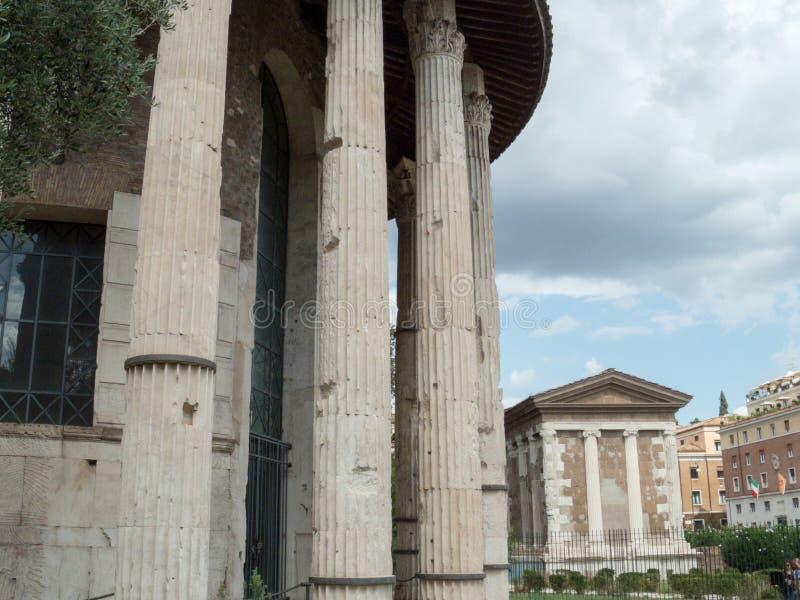 Tempio di Ercole Victor fotografia stock