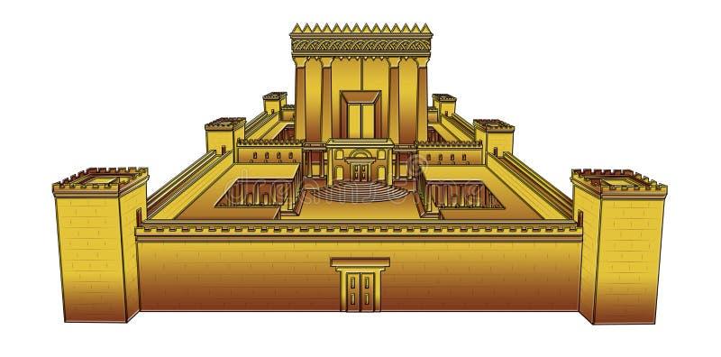 Tempio di Gerusalemme illustrazione vettoriale