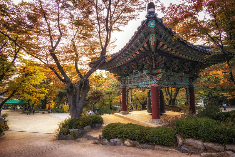 Tempio di Gilsangsa fotografie stock