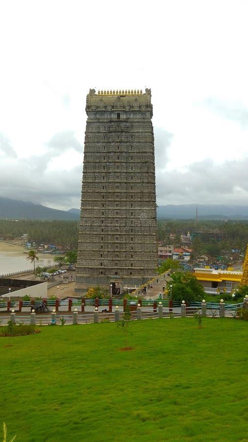 Tempio di Gopuram immagine stock