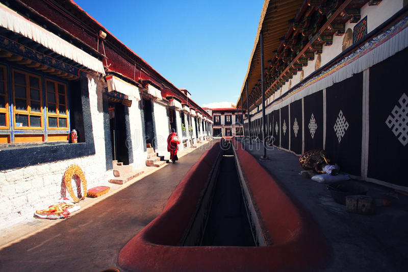 Tempio di Jokhang immagini stock
