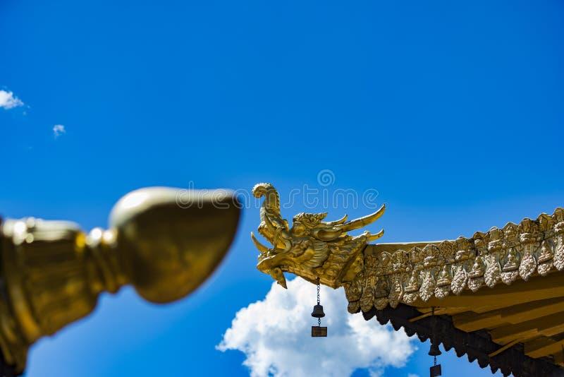 Tempio di Jokhang , Il Tibet fotografie stock