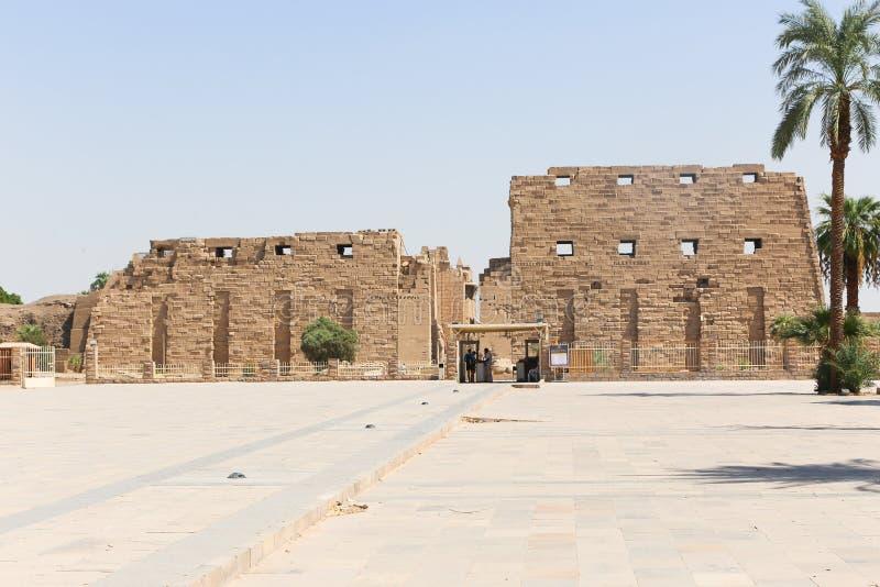 Tempio di Karnak - Egitto immagine stock