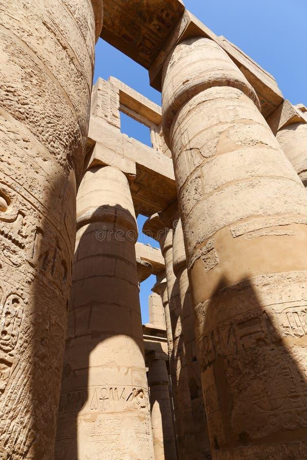 Tempio di Karnak - Egitto immagini stock libere da diritti
