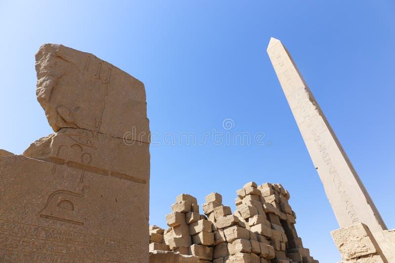 Tempio di Karnak - Egitto fotografia stock