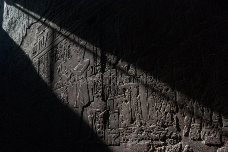 Tempio di Karnak - Luxor, Egitto, Africa immagine stock libera da diritti