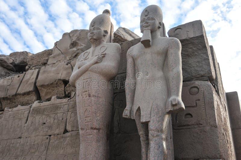 Tempio di Karnak - Luxor, Egitto, Africa fotografia stock