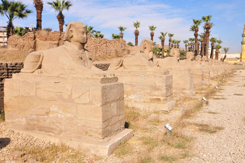 Tempio di Karnak - Luxor, Egitto, Africa immagini stock