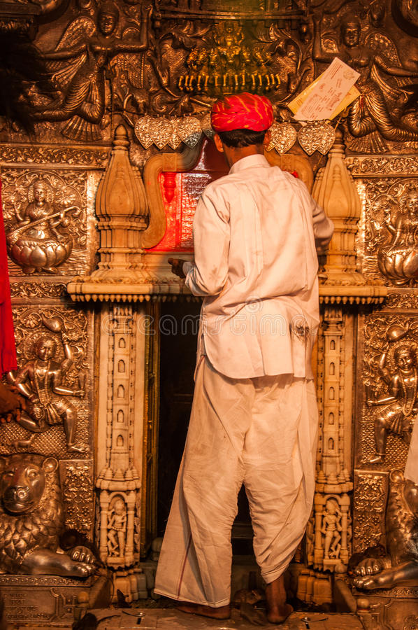 Tempio di Karni Mata fotografie stock libere da diritti