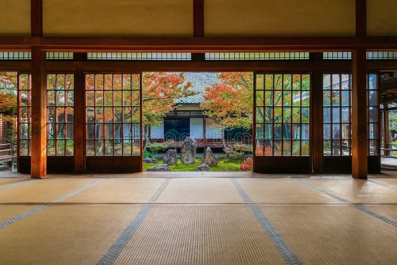 Tempio di Kennin-ji a Kyoto, Giappone fotografia stock libera da diritti