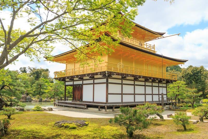 Tempio di Kinkaku-ji, Giappone fotografie stock
