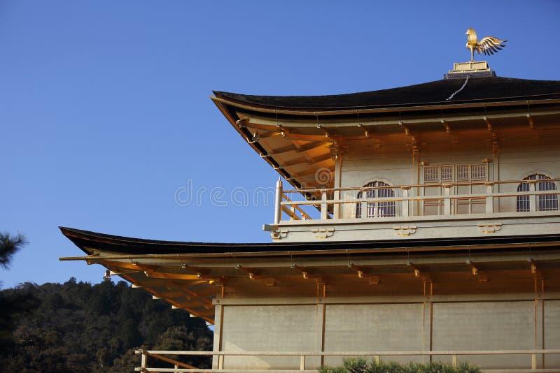 Tempio di Kinkakuji il padiglione dorato a Kyoto, Giappone immagini stock libere da diritti