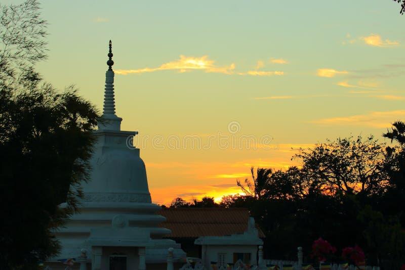 Tempio di Lord Buddha immagine stock