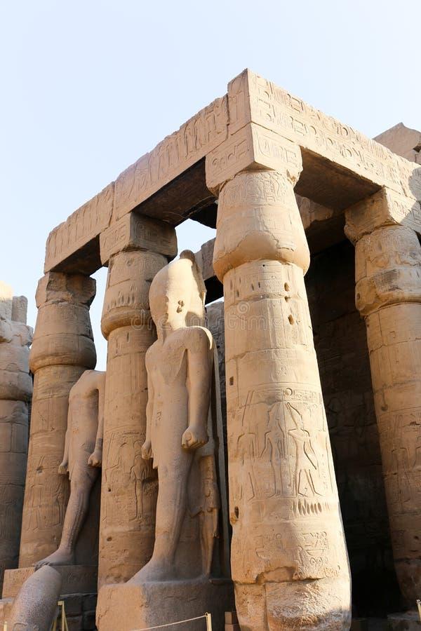 Tempio di Luxor - l'Egitto immagini stock