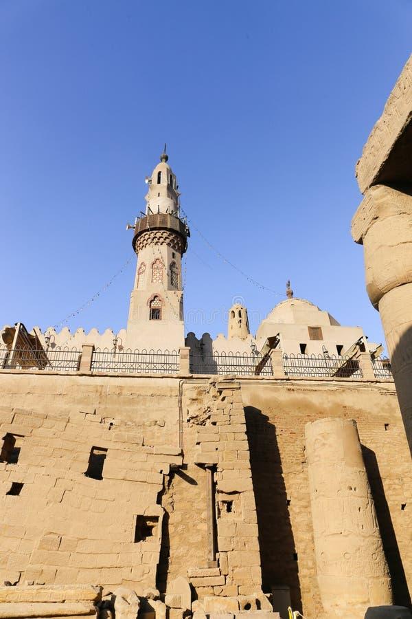 Tempio di Luxor - l'Egitto immagine stock