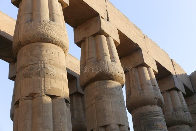 Tempio di Luxor - l'Egitto fotografie stock libere da diritti