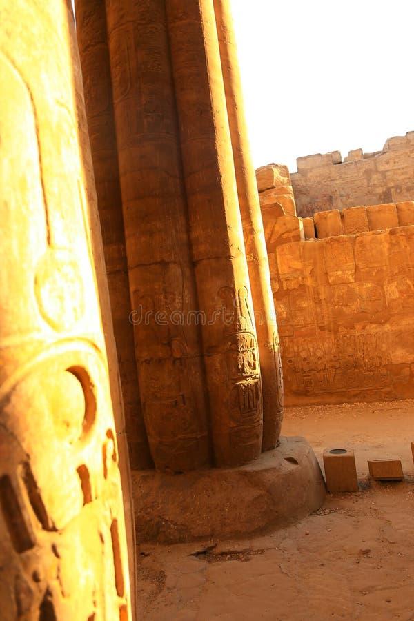 Tempio di Luxor - l'Egitto fotografia stock