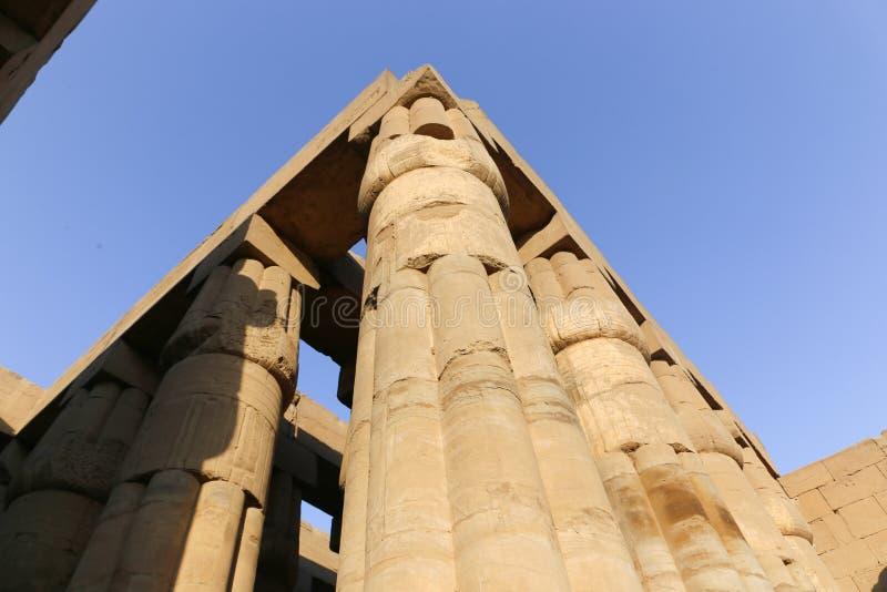 Tempio di Luxor - l'Egitto immagini stock libere da diritti