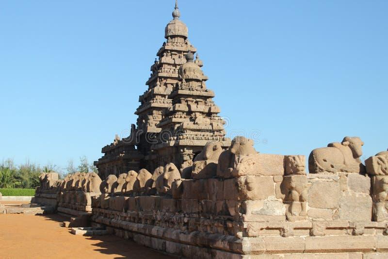 Tempio di Mahabalipuram fotografia stock libera da diritti