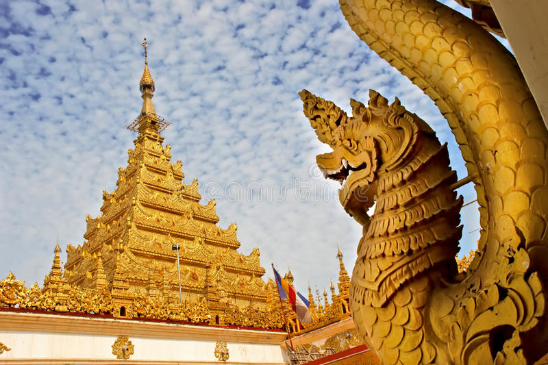 Tempio di Mahamuni immagini stock