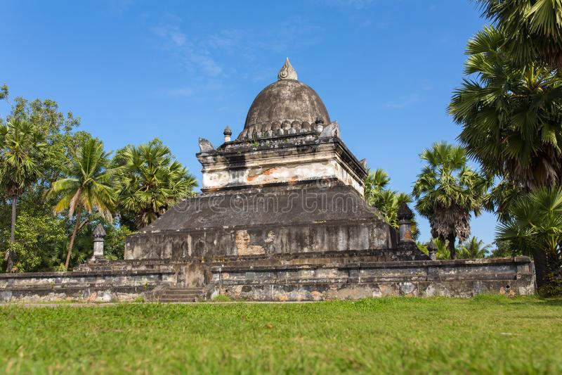Tempio di Makmo o di Wat Visounnarath a Luang Prabang immagine stock libera da diritti