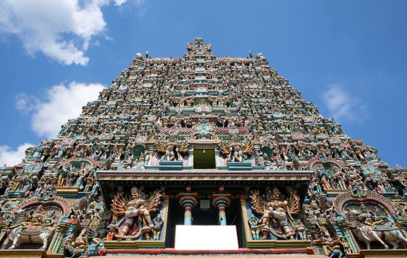 tempio di meenakshi di sri, Madura, India immagine stock libera da diritti