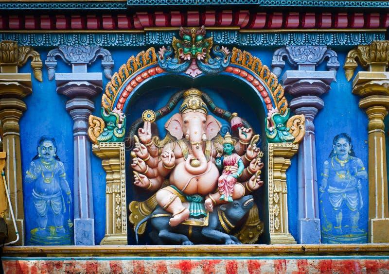 Tempio di Meenakshi a Madura, India fotografia stock