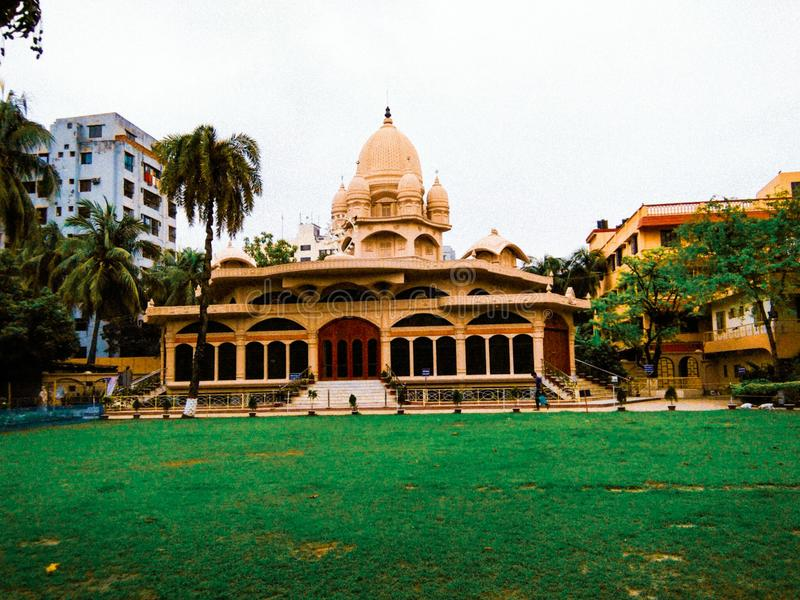 Tempio di missione di Ramkrishna fotografie stock libere da diritti