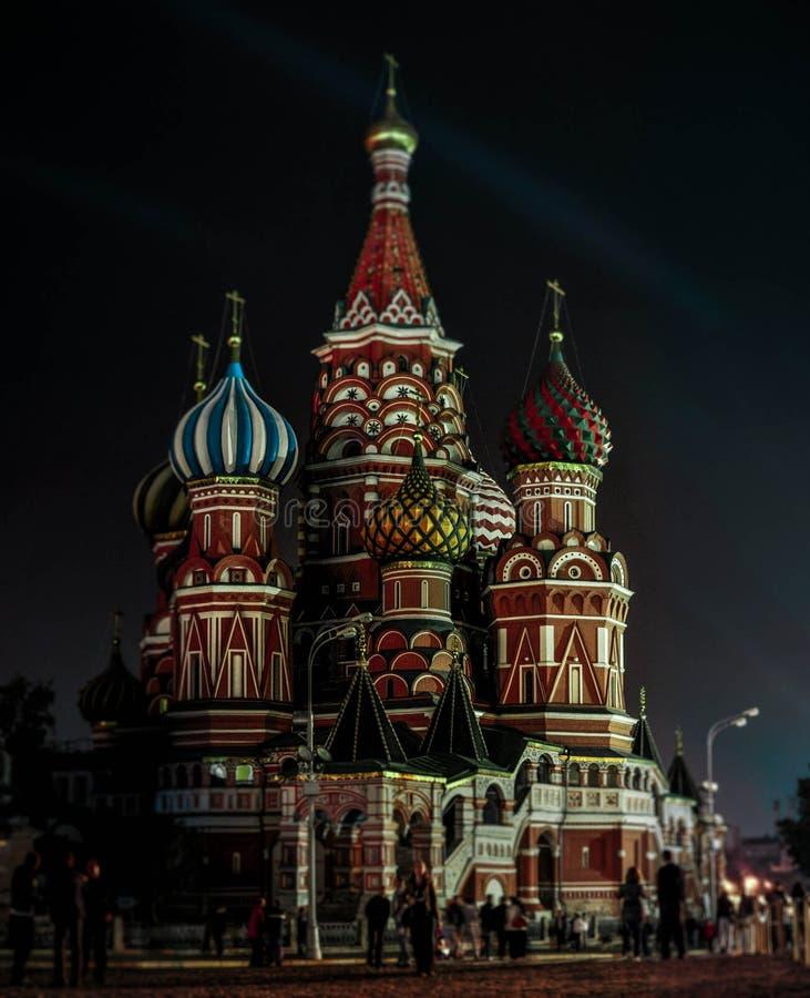 Tempio di Mosca fotografia stock