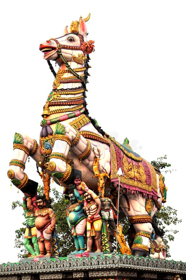 Tempio di Muniswaran in Chennai fotografia stock libera da diritti