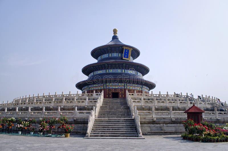 Tempio di pace celeste immagine stock