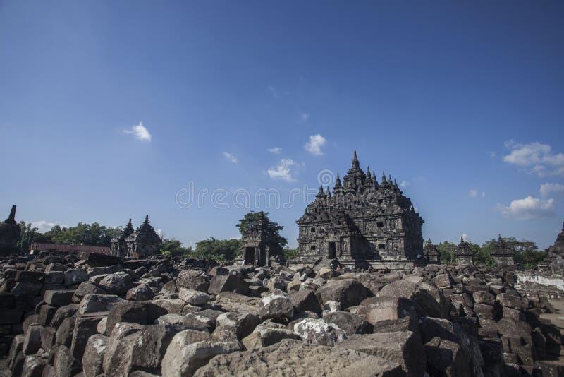 Tempio di Plaosan immagini stock
