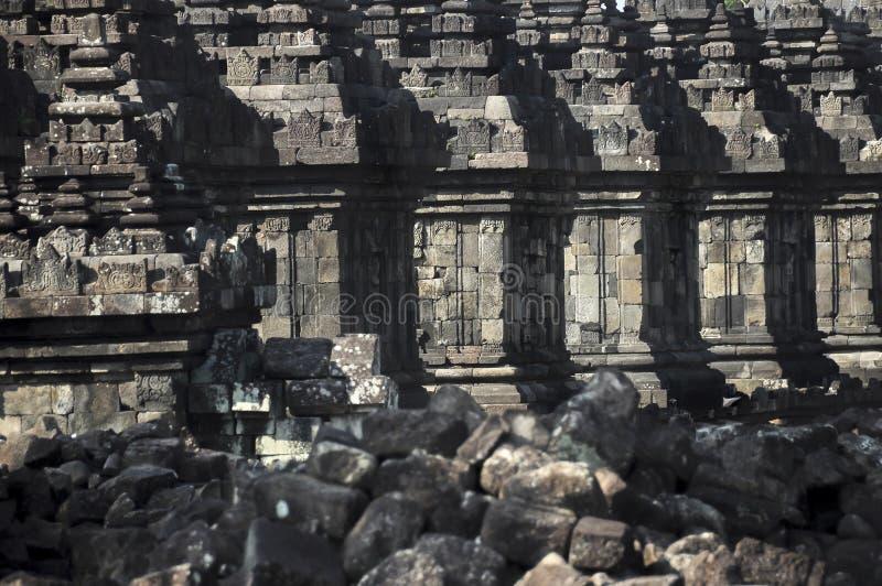 Tempio di Plaosan immagine stock