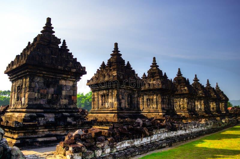 Tempio di Plaosan Budhist fotografie stock
