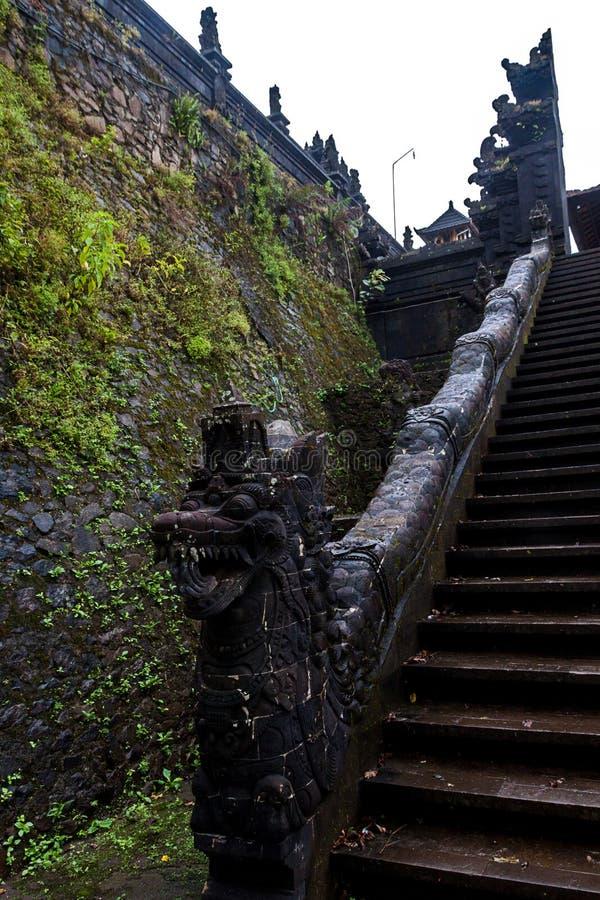 Tempio di Pura Lempuyang fotografia stock