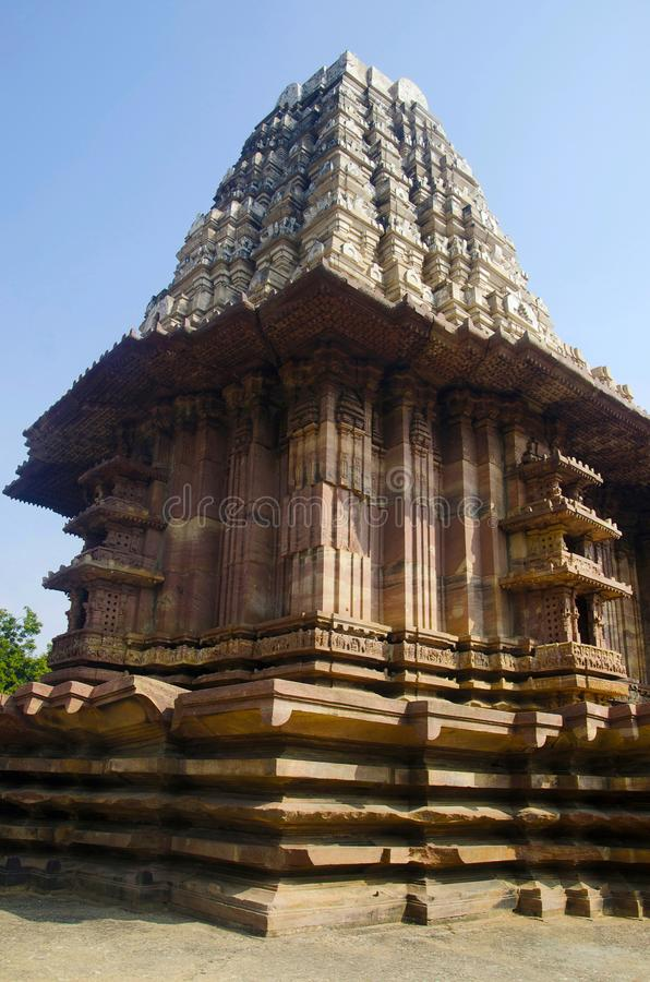 Tempio di Ramappa, Palampet, Warangal, Telangana, India immagine stock
