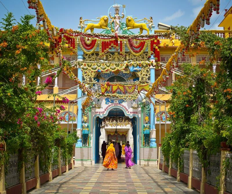 Tempio di Rani Sati fotografie stock