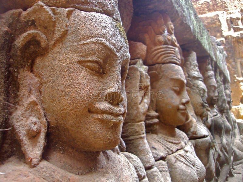 Tempio di re, Cambogia immagini stock