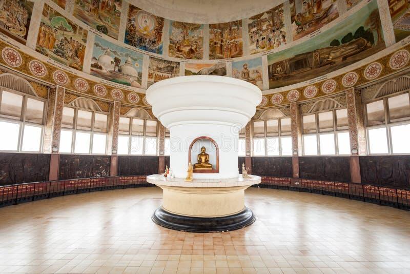 Tempio di Sambodhi Chaithya, Colombo fotografia stock