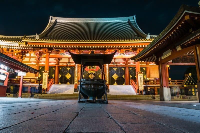 Tempio di Senso-ji fotografie stock libere da diritti