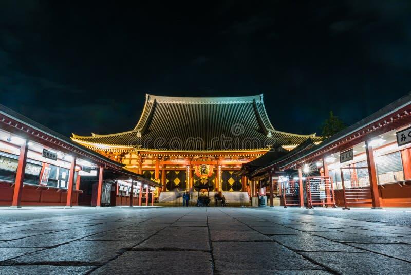 Tempio di Senso-ji fotografia stock libera da diritti