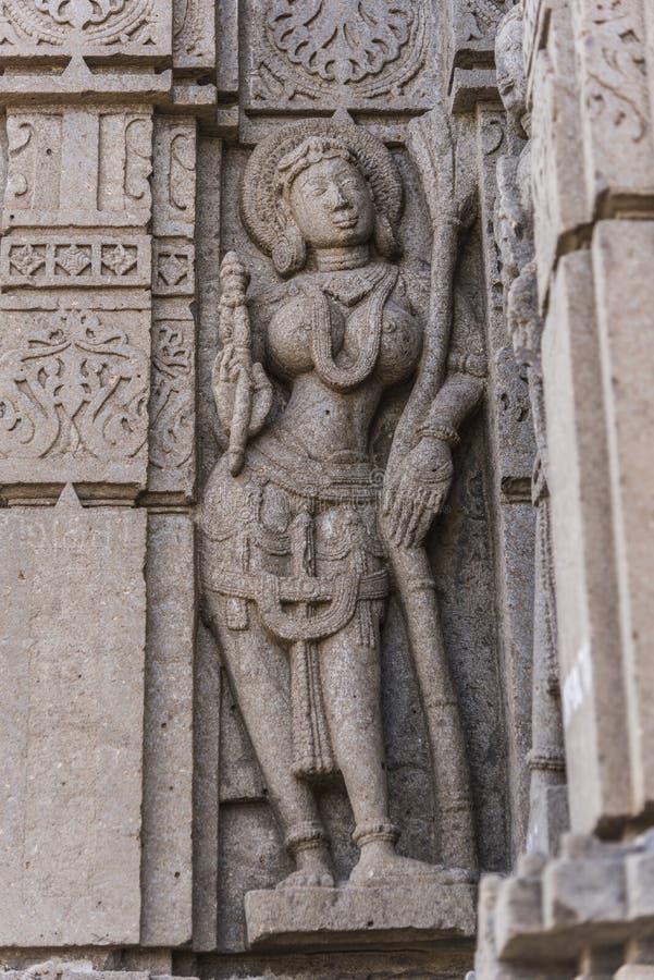 Tempio di shiva di Hemadpanti, Hottal, maharashtra fotografia stock