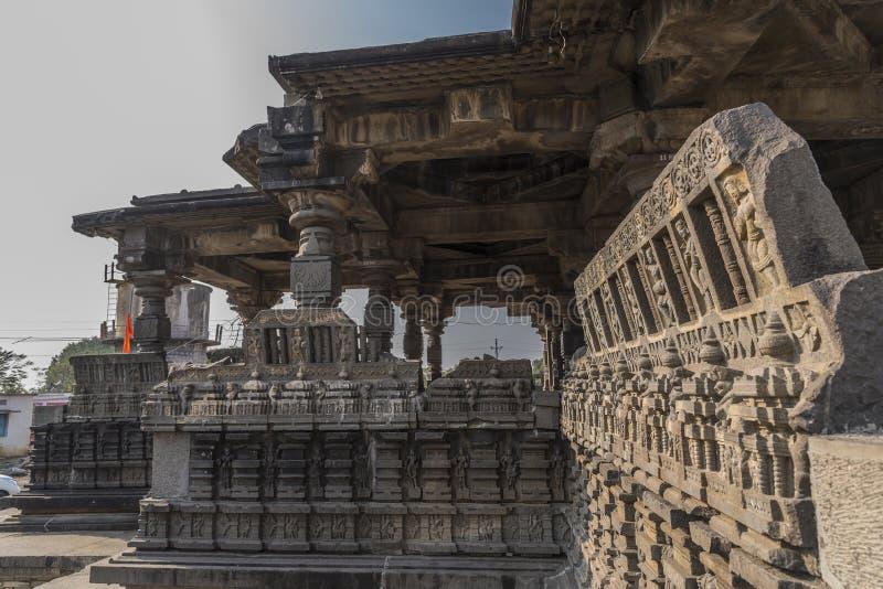Tempio di shiva di Hemadpanti, Hottal, maharashtra immagine stock