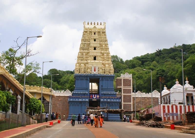 Tempio di Simhachalam, Andhra Pradesh fotografie stock libere da diritti