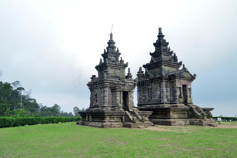 Tempio di songo di Gedong fotografie stock