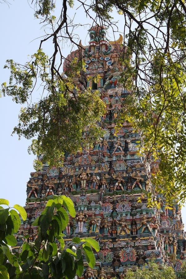 Tempio di Sri Meenakshi Amman immagine stock libera da diritti