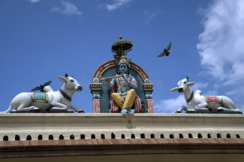 Tempio di Sri Veeramakaliamman, poca India, Singapore immagine stock libera da diritti